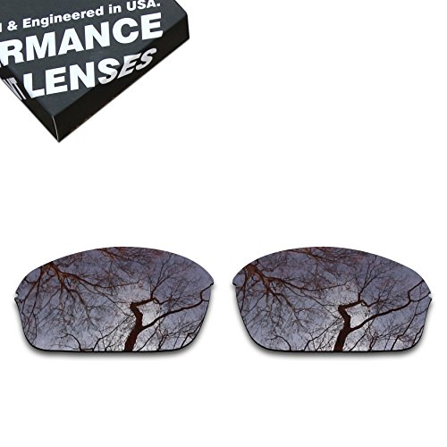 ToughAsNails Polarized Lens Replacement for Oakley Half Wire 2.0 Sunglass - - A Wire Lenses Replacement Oakley