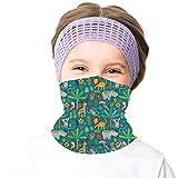 Girls Neck Warmer Casual Ski Face Mask Bandanas