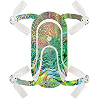 Skin For ZEROTECH Dobby Pocket Drone – Psychedelic | MightySkins Protective, Durable, and Unique Vinyl Decal wrap cover | Easy To Apply, Remove, and Change Styles | Made in the USA