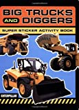 Big Trucks and Diggers Super Sticker Activity Pack (Caterpillar)