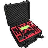 Professional Carrying Case for DJI Spark with space for 6 batteries and more accessories (MC-CASES FlyMore Explorer Edition)