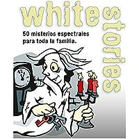 Black Stories- Juego de Mesa White Stories, Multicolor (Gen-x Games GEN040)