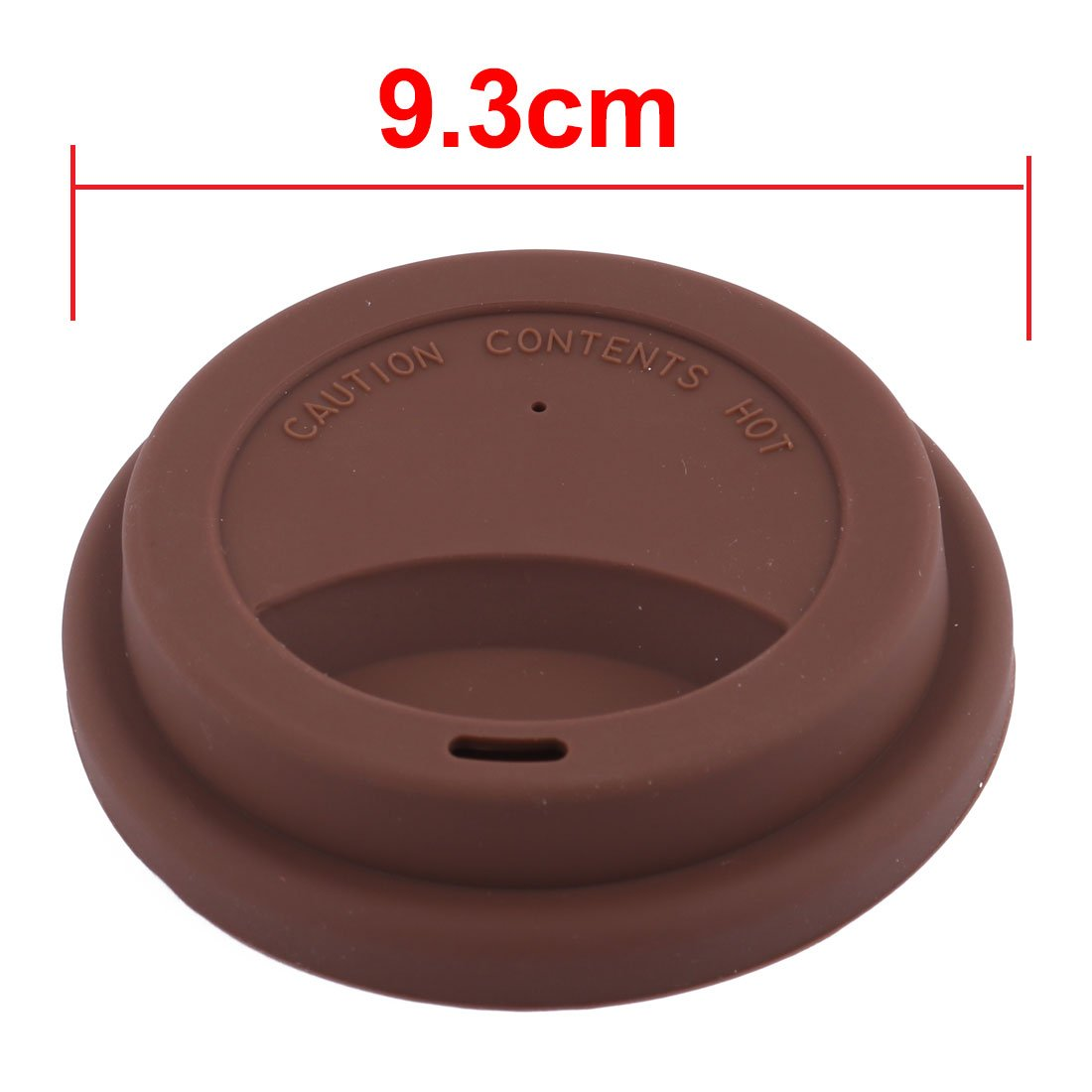 uxcell/® Silicone Family Cafe Reusable Drinking Water Tea Coffee Mug Cup Lid Cover Black