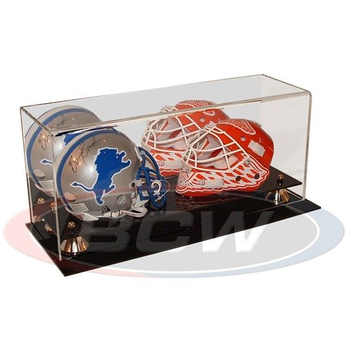 BCW 1-AD02-2 Acrylic Double Mini Helmet Display by BCW
