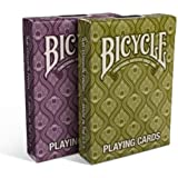 Lot 2 Bicycle® Peacock Deck Stylish Simple Splendid Playing Cards (2-Pack)
