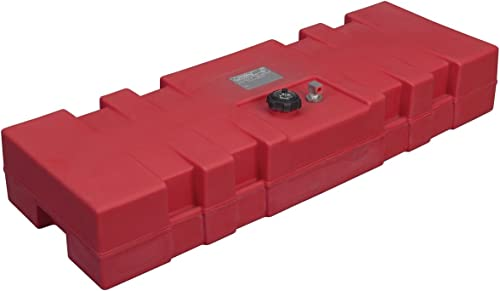 14 Gallon Plastic Portable Topside Fuel Tank (Direct Sight Gauge, UV Inhibitor) [Moeller Marine] Picture