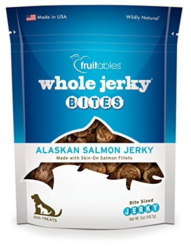 Fruitables Whole Jerky Bites Alaskan Salmon Dog Treats, 5 Oz