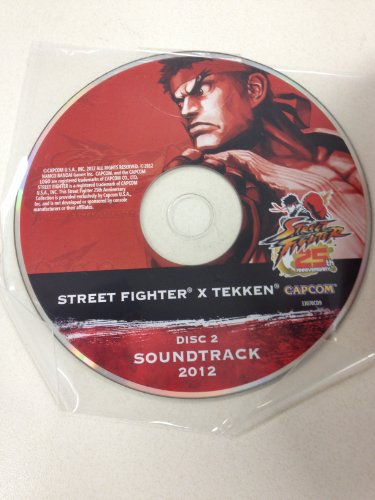 Price comparison product image Limited Edition Street Fighter 25th Anniversary 2012 Street Fighter x Tekken Sound Track disc. 2