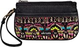 The SAK Roots Large Wristlet,Neon One World,One Size, Bags Central