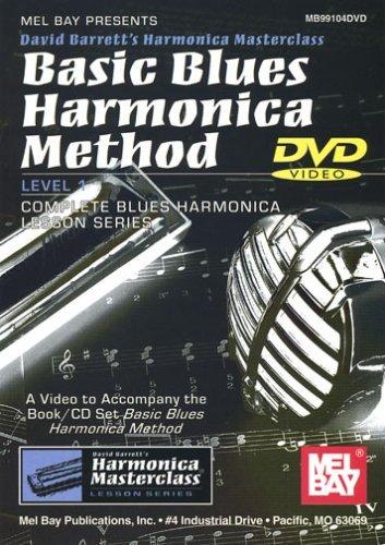 Harmonica Book Method Video - Basic Blues Harmonica Method [DVD] [NTSC]