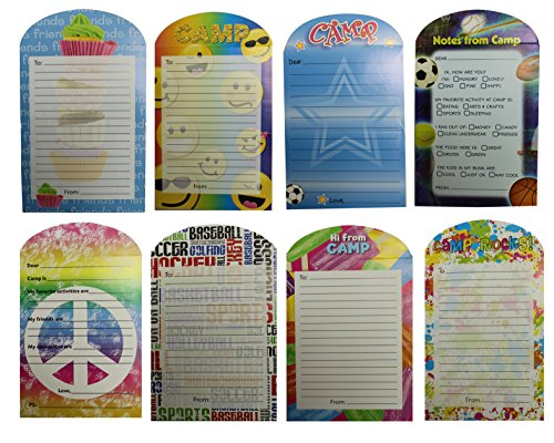 Gilbins Campers Collection Seal And Send Stationery For Camp With Flip Stickers Graffity