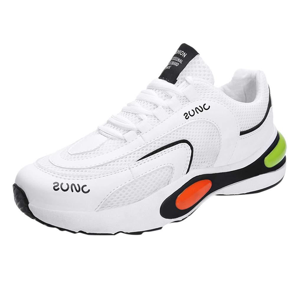 Darringls Zapatillas Deporte Hombre Zapatos para Correr Athletic Cordones Air Cushion Running Sports Sneakers 39-44: Amazon.es: Ropa y accesorios