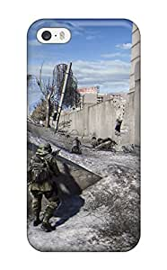 Awesome K Wallpapers Soldier Flip Case With Fashion Design For Iphone 5/5s(3D PC Soft Case)