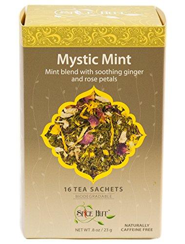 The Spice Hut Mystic Mint Herbal Tea, 16 Count