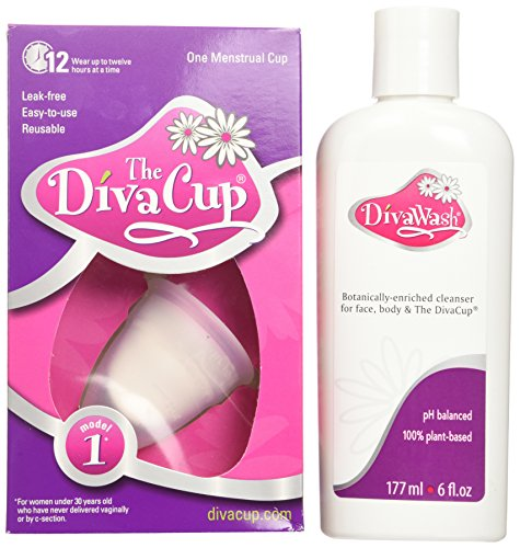 Diva Cup Model 1, and Divawash (Post Cycle Treatment compare prices)