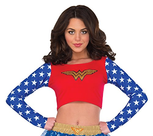Rubie's Women's Top, Wonder Woman, Small/Medium
