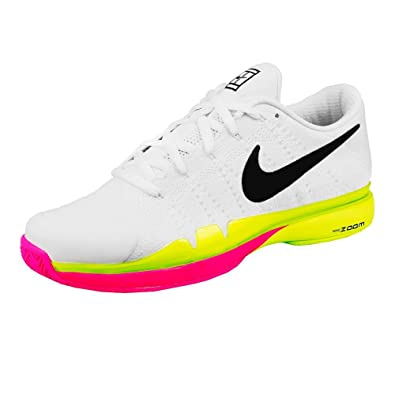 e67aeb8405c0b Roger Federer Zoom Vapor 9.5 Tour Flyknit LE All Court Shoe Men - White