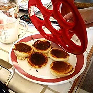 Zooarts anti-adh/ésive Po/êle /à cr/êpes Flip Parfait Petit D/éjeuner machine /à oeuf Omelette Ustensiles de Cuisine