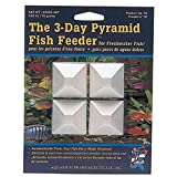 API WEEKEND PYRAMID FISH FEEDER 3-Day Automatic Fish Feeder 1.4-Ounce 4-Count Pack