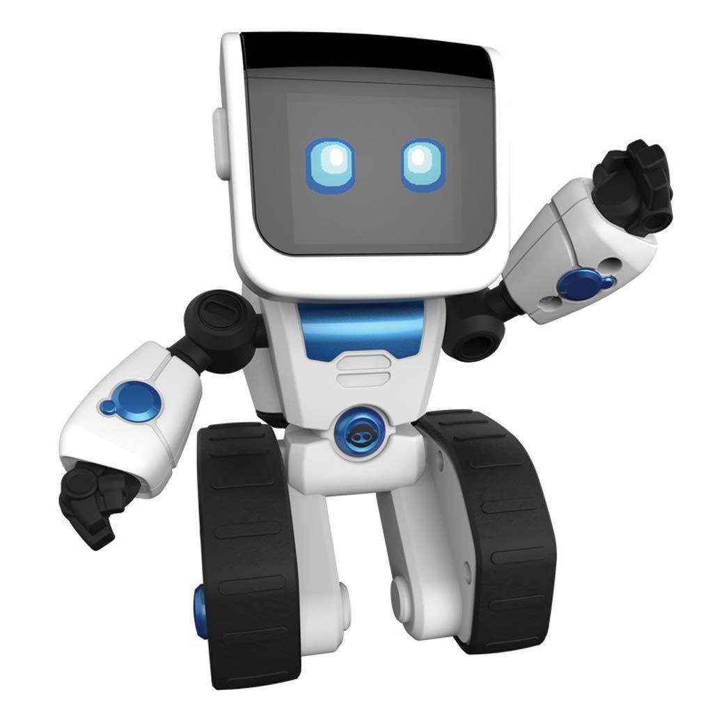 HTDZDX Kinderspielzeug Intelligente Vorschulroboter Programmierbares Kinderspielzeug Pädagogische Unterhaltung Spielzeug Geburtstagsgeschenke