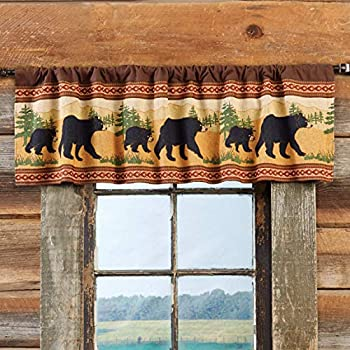 Amazon Com Park Designs Concord Bear Lined Valance 60 X