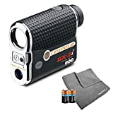 Leupold GX-3i3 Golf Rangefinder Bundle I Includes Golf Rangefinder (Non-Slope) with Carrying Case, PlayBetter Microfiber Towel and Two (2) CR2 Batteries   PinHunter 3