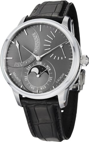 Maurice Lacroix MasterPiece Men's Moonphase Automatic Watch MP6528-SS001-330