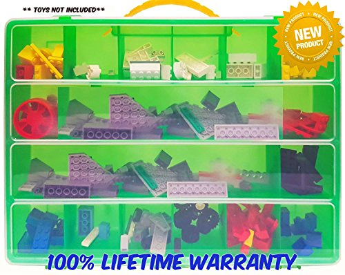 Life Made Better Toy Storage Organizer - Compatible With Lego Building Bricks - Durable Carrying Case- - In Chicago Airport Shops