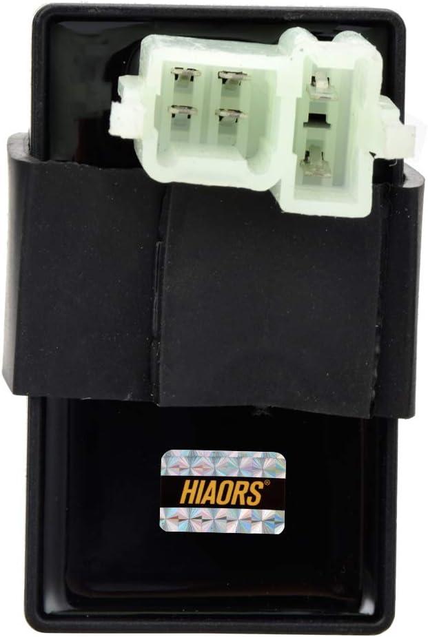 HIAORS 6 Pin AC CDI Box Ignition Coil for Baja Motorsports Baja 90 Ba90 90cc CG 125cc 150cc 200cc 250cc Vertical Engine Dirt Bike Go Kart ATV Quad Parts