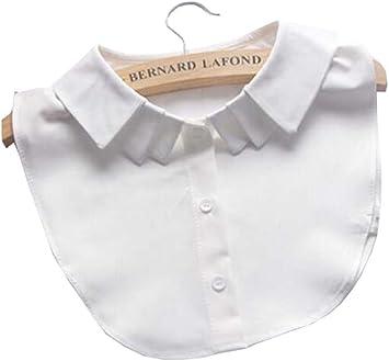 Black Temptation Cuello Falso del Cuello Falso de Las Camisas de la Blusa del Cuello Falso de la Camisa para Las Mujeres, A: Amazon.es: Deportes y aire libre