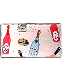 Cameron Street Stacy Leather Wallet, Multi (Champagne Print/ Multi Pink)