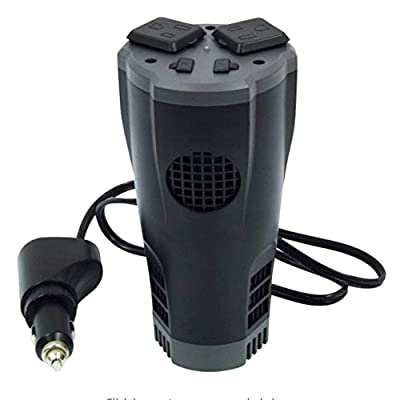 PowerDrive PD200CUP 200 Watt Cup Inverter with Dual USB Ports, 1 Pack: Automotive