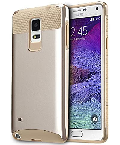 Note 4 Case, BENTOBEN Samsung Galaxy Note 4 Case 2-Pieces Dual Layered Rugged Durable Impact Resistant Shockproof Cases Cover for Samsung Galaxy Note 4 (Cell Phone Covers For Samsung 4)