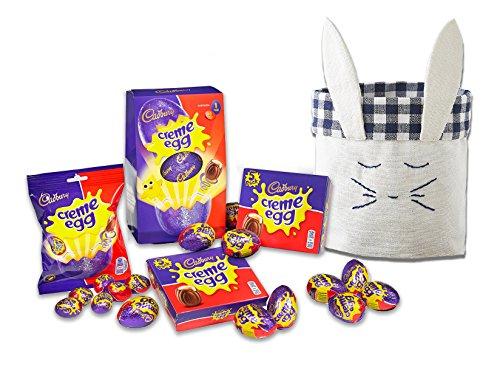 Cadbury Creme Eggs Variety by The Yummy Palette | Cadbury Creme Eggs Pack Cadbury Cream Egg in Cute Bunny Basket