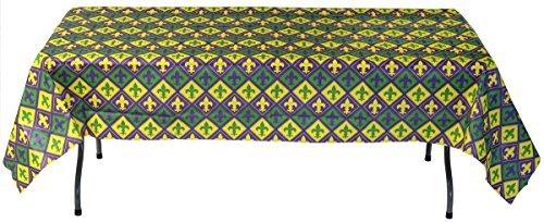 Mardi Gras Paper Table Cover (54