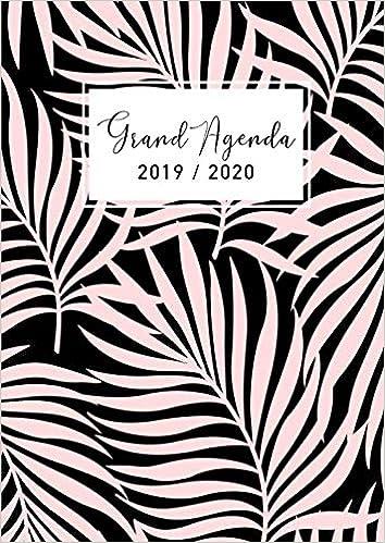 Grand Agenda 2019-2020: Agenda de Juillet 2019 à Décembre ...
