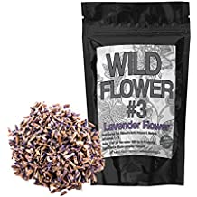 Dried Lavender Flowers Perfect for Homemade Tea, Potpourri, Bath Salts, Gifts, Crafts, Wild Flower #3 (8 ounce)