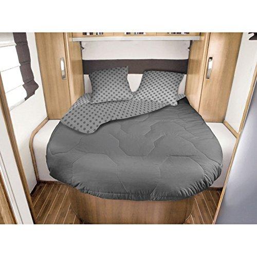 via mondo Lit Tout Fait Camping Car 140x190cm Gris