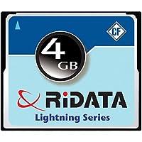 Ridata 120x Lightning Series 4GB MLC Compact Flash Memory Card