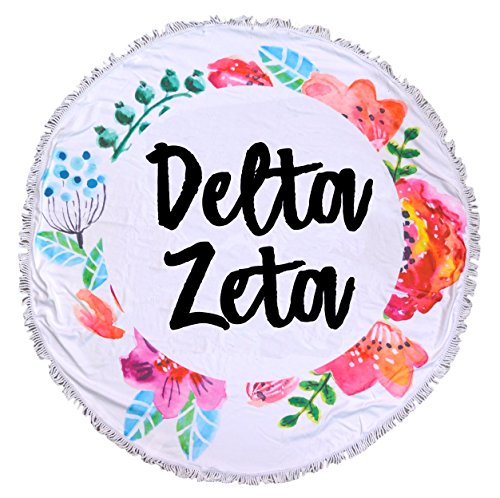 Sorority Shop Delta Zeta - Fringe Towel - Blanket