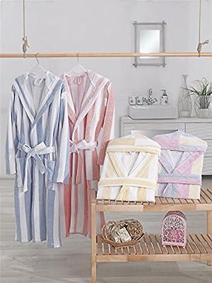 AZK Luxury Turkish Cotton Hooded Bathrobes, Men/Women (Many Colors)