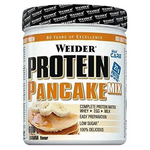 Weider - Mezcla de Tortitas de Proteína - 600g - Platano: Amazon.es: Alimentación y bebidas