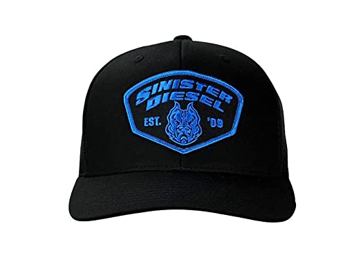 Sinister Diesel Black and Blue 6 Panel Snapback Hat at Amazon Men s ... 38f159b0d37