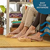 TheraFlow Dual Foot Massager Roller (Large). Relax