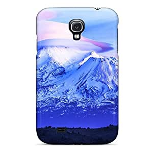 BretPrice Case Cover Protector Specially Made For Galaxy S4 New Hat On The Mountains