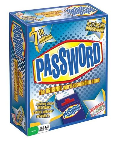 Endless Games Classic Password Board Game, 7th Edition