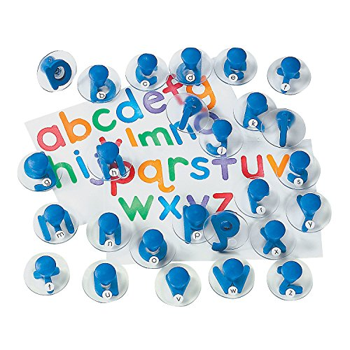Lowercase Letter Stampers