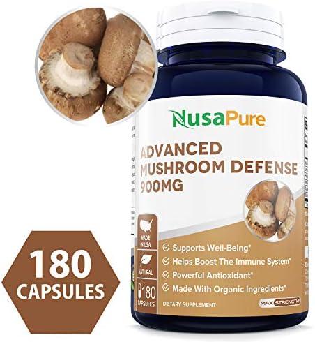 Advanced Mushroom Defense 1350mg Non GMO product image