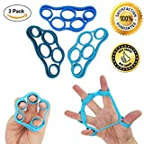 MS Premium TOP Finger Stretcher, Hand Grip Strengthener, Rock Climbing, Finger Strengthener Exercise, Injury Rehabilitation,Best Strength Trainer Gripper set, SPECIAL LAUNCH PRICE FOR FEW DAYS, 3 pcs