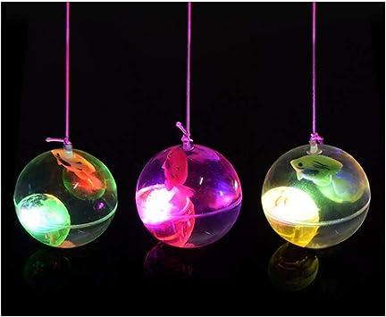 WRUMLJUFX Juguetes creativos para niños Bola de Cristal Luminosa ...